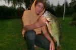 Barsch, 42 cm, 1240 g, Köderfisch